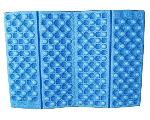 1pcs Waterproof Foldable Folding Foam Mat Chair Cushion Seat Pads (Blue, Green, Red, Orange, Purple.) (Blue)