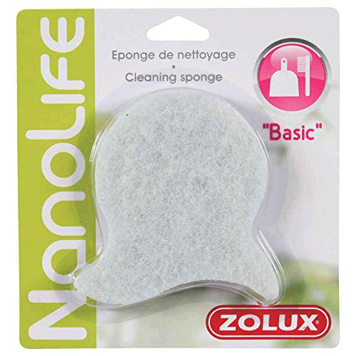 Zolux - Éponge de Nettoyage - Blanche