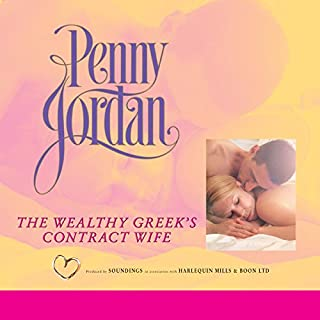 The Wealthy Greek's Contract Wife                   By:                                                                                                                                 Penny Jordan                               Narrated by:                                                                                                                                 Karen Cass                      Length: 5 hrs and 23 mins     3 ratings     Overall 3.7