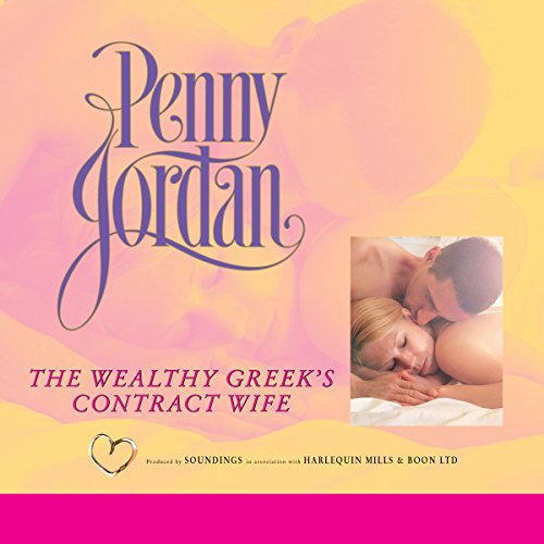 The Wealthy Greek's Contract Wife audiobook cover art
