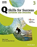 Q Skills for Success (2nd Edition). Listening & Speaking 3. Student's Book Pack