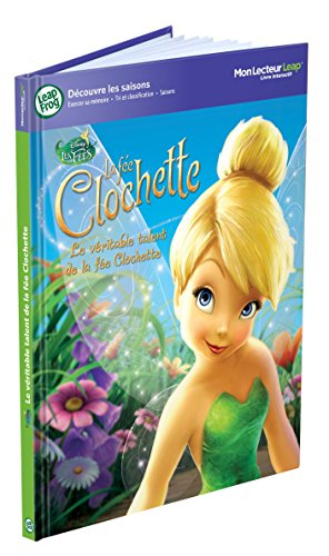 LeapFrog - 80558- Jeu Educatif - Livre Mon Lecteur Leap/Tag - La fée Clochette (Disney)