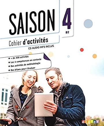Saison niveau 4 - cahier + cd mp3 (French Edition) by Anneline Dintilhac Collectif(2015-06-15)