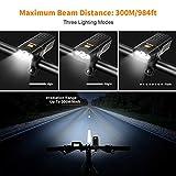 Zoom IMG-1 luci bicicletta ricaricabili usb omeril