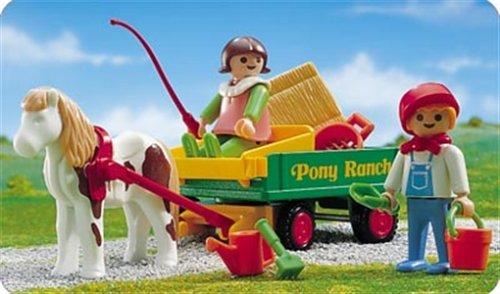 PLAYMOBIL 3713 - Ponywagen