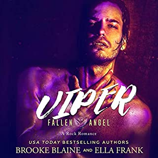 Viper     Fallen Angel, Book 2              By:                                                                                                                                 Brooke Blaine,                                                                                        Ella Frank                               Narrated by:                                                                                                                                 Charlie David                      Length: 7 hrs and 6 mins     Not rated yet     Overall 0.0