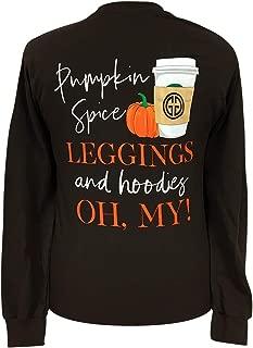 pumpkin spice leggings