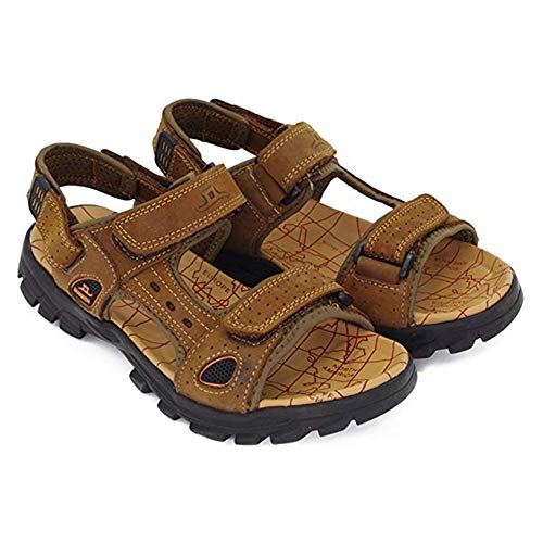 Sandalen Herren Sommer Outdoor Schuhe Männer Plateau Sparco Mokassins Oxford für Buffalo Sneaker Herr Strand Weinrot Braun 45