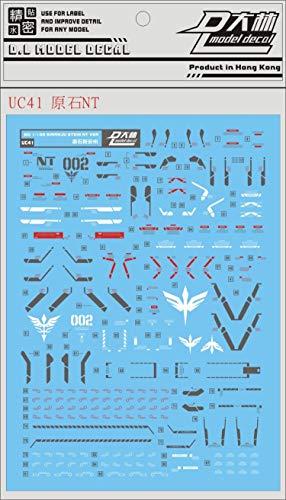 Decals Water Decal for MG 1/100 MSN-06S-2 Sinanju Stein [Narrative Ver.] Gundam Narrative
