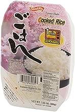 Shirakiku Cooked White Rice, 7.05 oz (200 g) Units (Pack of 10)