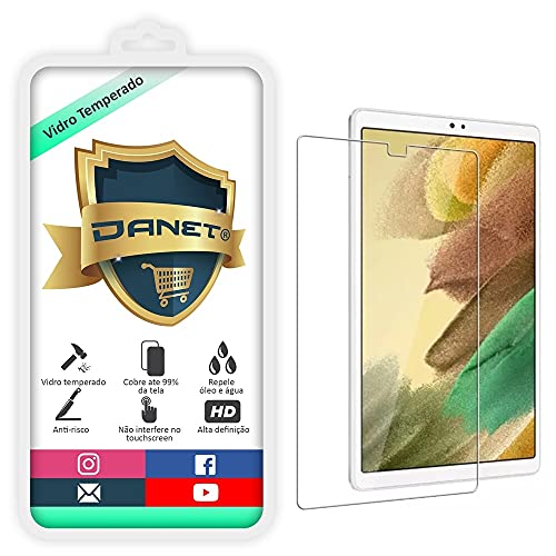 "Película De Vidro Temperado Para Tablet Galaxy Tab A7 Lite T220 T225 com Tela de 8.7"" - Proteção Blindada Anti Impacto Top Premium"