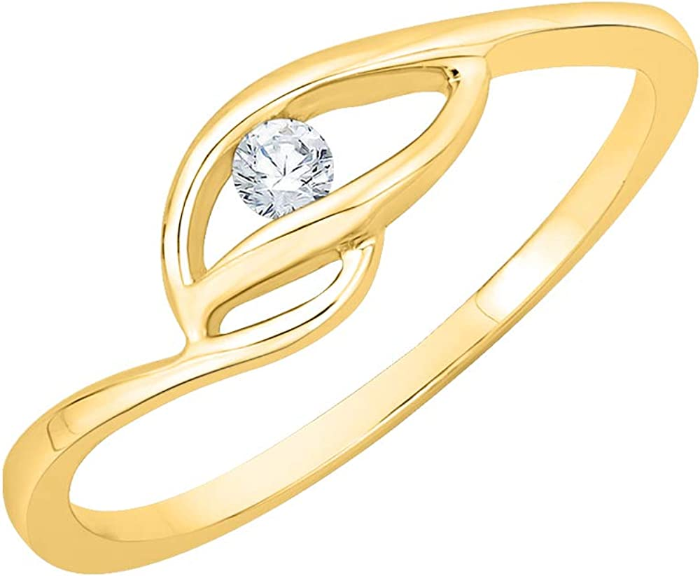 KATARINA Diamond Solitaire Nippon regular agency Promise Ring in 20 1 Gold Max 47% OFF cttw 10K