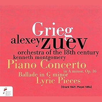 Piano Concerto in A Minor, Op. 16 / Ballade in G Minor / Lyric Pieces