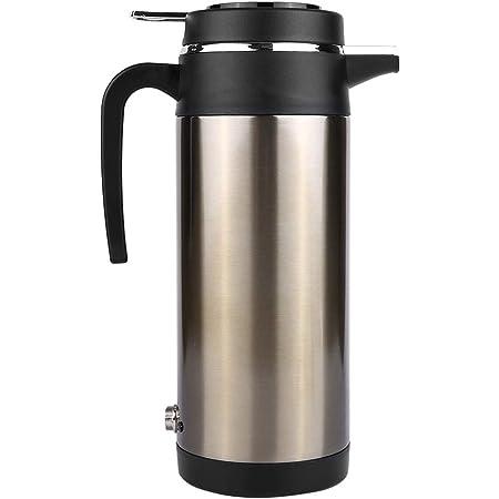 Auto Wasserkocher Kessel 1200 Ml 12 V 24 V Edelstahl Elektrische In Car Wasserkocher Auto Heizung Tasse Reise Wasserflasche Thermoskanne Heizung Für Wasser Tee Kaffee Milch 12v Auto