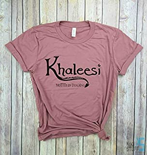 Khaleesi Shirt Mother of Dragons Shirt Mother of Dragons Shirt for Women Girls Men Unisex Top Tee, Game of Thrones, Gym shirt, Yoga shirt, Womens shirt