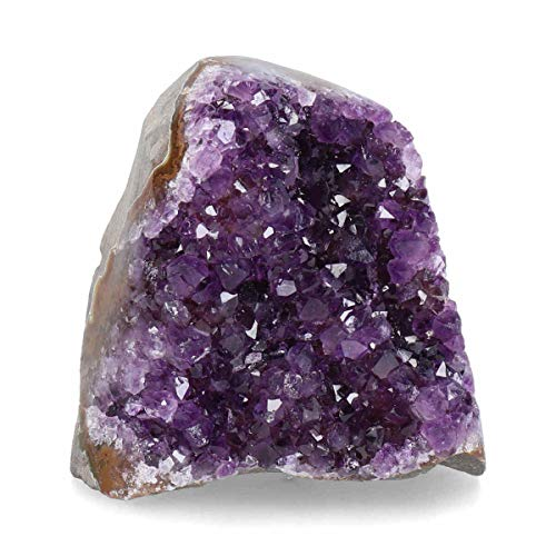 Deep Purple Project Amethyst Geode (at Least 1 Lb Guaranteed) Cluster Crystal with Ready to Gift Box Included Amazing Stones from Uruguay