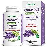 PURO OLIO DI LAVANDA - Naturale al 100%, Aiuta a Ridurre la Tensione e lo Stress, Calma il Corpo e...