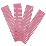 WYANG 4pcs Bricolage tiroir en Plastique Organisateur séparateur séparateur séparateur séparable Blanc Rose(04)