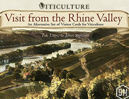 Stonemaier Games Current Edition Visit from The Rhine Valley Board Game