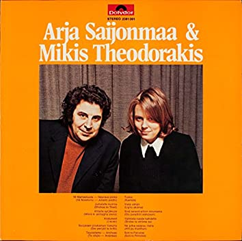 Arja Saijonmaa ja Mikis Theodorakis