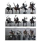Tnfeeon Mini Guerrero Medieval Antiguo Soldado Modelo de Juguete para niños Modelo de Soldado Militar estático Perfecto Regalo de cumpleaños para niños (Modelo de Soldado Antiguo)