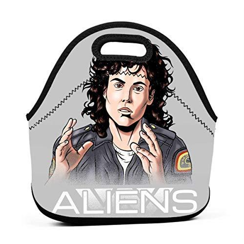 Alien Amanda Ripley Bolsa de almuerzo reutilizable Fiambrera impermeable para picnic