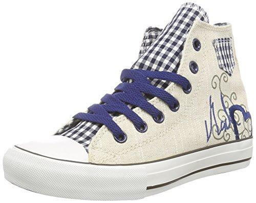 Krüger Blue Heart, Damen Hohe Sneakers, Mehrfarbig (8), 39 EU