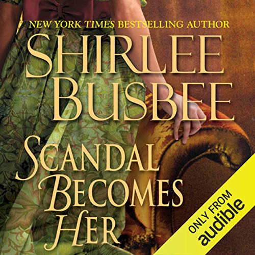 Scandal Becomes Her audiobook cover art