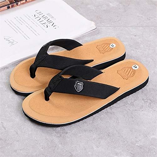 Department Store - Zapatillas para hombre de verano, antideslizantes, ligeras, casuales, para playa, para hombre, color camel, talla de zapato: 6