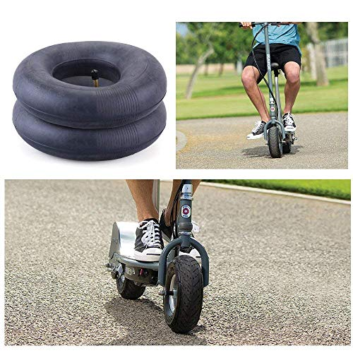 AR-PRO (4 PACK) 2.80/2.50-4 Inner Tube for Hand Trucks, Utility Cart, Lawn Mowers, Wheelbarrows, Dollys, Scooters, Replacement 2.80-4 2.50-4 Tire Inner Tube with TR87 Bent Valve Stem