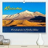 Atacama - Farbsinfonie im Norden Chiles (Premium, hochwertiger DIN A2 Wandkalender 2022, Kunstdruck in Hochglanz): Im Zauber der suedlichen Atacama-Wueste, einer der trockensten Landschaften der Erde (Monatskalender, 14 Seiten )