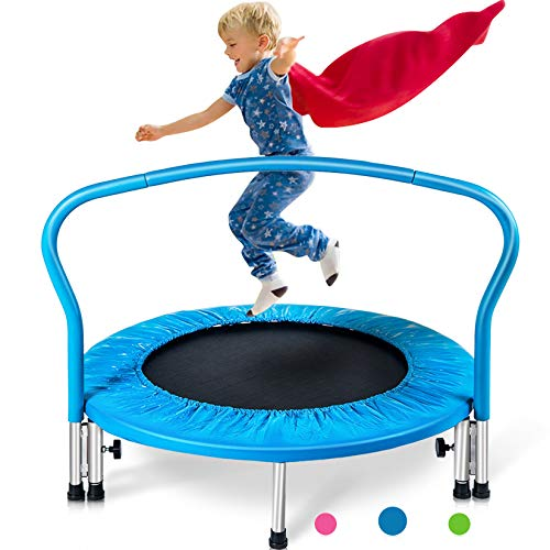 Merax 36' Kid's Mini Exercise Trampoline Portable Trampoline with...
