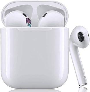 最新Bluetoothヘッドセット Apple AirPods タイプ Bluetoothイヤホン+ TWS 完全ワイヤレスイヤホン 高音質 左右分離型 自動ON/OFF 片耳&両耳通話 防水 超軽量 iPhone 用 Bluetooth対応 マイク