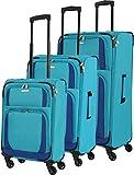 Travelite Paklite Rocco 4-Rollen Kofferset 3tlg