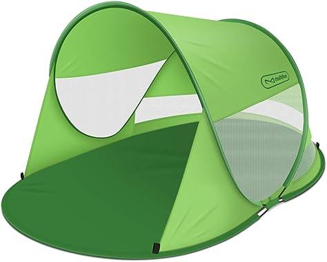 Multifun UPF 50+ Easy Pop Up Beach Tent, Large
