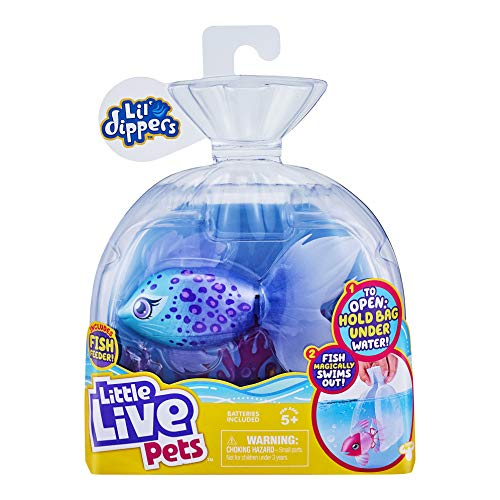 Little Live Pets Lil' Dippers 26157 – Furtail Lil' Dippers de Little Live Pets con Efecto «Wow»...