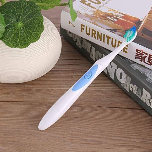 Kongqiabona-UK Cepillo de Dientes ultrasónico eléctrico Productos de Limpieza bucal a Prueba de Agua con batería Cepillo de Dientes Suave 2 Minutos Temporizador Inteligente
