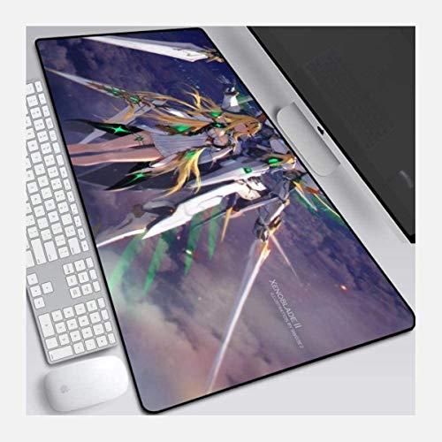 Xenoblade Chronicles Speed Gaming Mauspad, XXL Mauspad, 800X300 mm, große Größe, 3 mm Dicker Boden, perfekte Präzision und Geschwindigkeit Mauspad,P