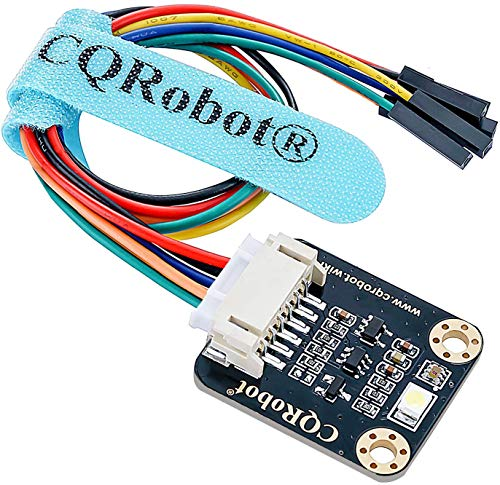 CQRobot TCS34725FN RGB Color Sensor Compatible with Raspberry Pi/Arduino/STM32. I2C Interface, Output RGB Data/Light Intensity Table. for Ambient Light Test, Color Verification and Classification.
