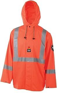 Helly Hansen Work Jacket Mens FR Alberta Polyester 2XL HV Orange 70256