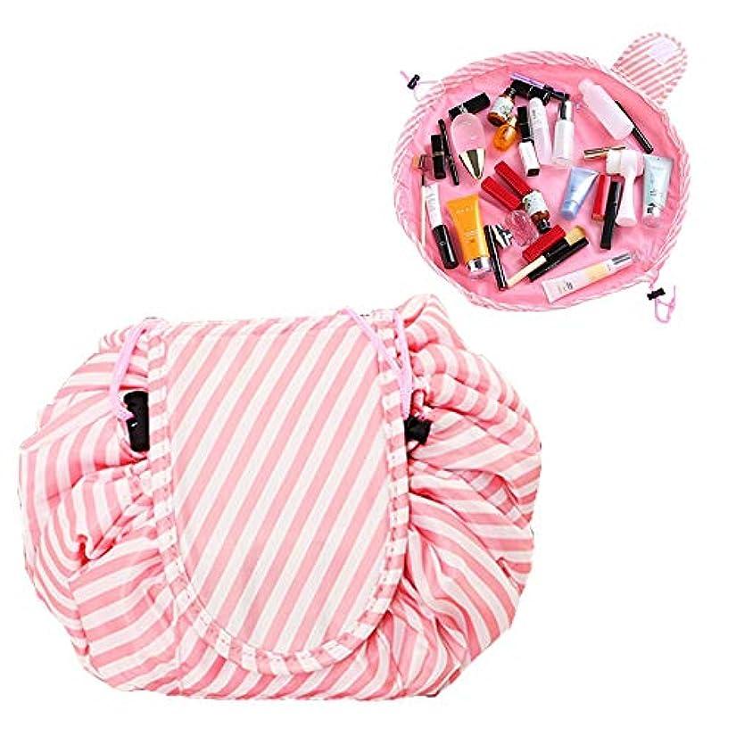 起こる下に向けます変位Basong 化粧ポーチ 巾着型 コスメポーチ ポーチ メイク収納 巾着バッグ レディース 小物入れ 持ち運び コンパクト