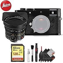 Leica M-P (Typ 240) Digital Rangefinder Camera (Black) + Leica 18mm f/3.8 Lens (11649) + Professional Accessory Combo