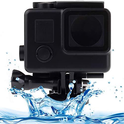 Unbekannt LCE für GoPro-Sport-Kamera Unterwassergehäuse LCE Black Edition wasserdichtes Gehäuse-Schutzhülle mit Schnalle Grundhalterung for GoPro HERO4 / 3 +, Wasserdicht Tiefe: 10m (Schwarz)