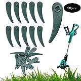 Lame en plastique pour lames de lame de coupe-bordures en herbe compatible avec la...
