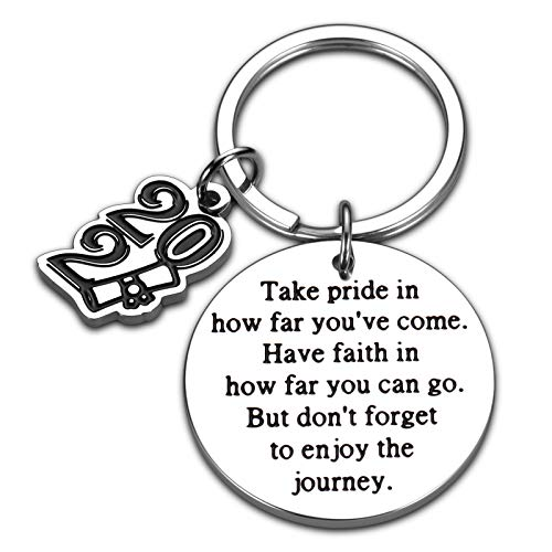 Graduation Key chain for Daughter Son Students Teens Him Her High...