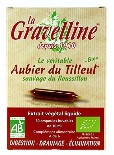 LA GRAVELLINE Aubier du Tilleul - 30 ampoules Bio -