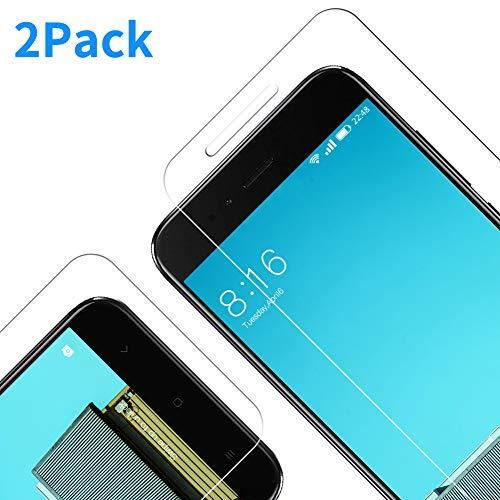 Full-Cover Protector Pantalla Xiaomi Mi A1 Anti-Ara/ñazos Ajuste Vridrio Negro SPARIN Sin Burbujas 2-Pack Cristal Templado Xiaomi Mi A1 Dureza 9H Anti-Huella