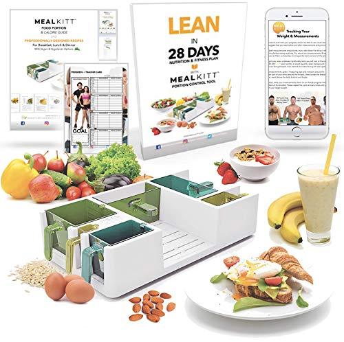 Get Lean Mit Mealkitt tm Premium Teil Control mit Rezepten & Fitness Programme