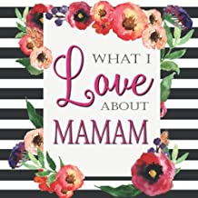 What I Love About Mamam: Color Fill In The Blank Love Books - Personalized Keepsake Notebook - Prompted Guide Memory Journal (Love Empowered Women)