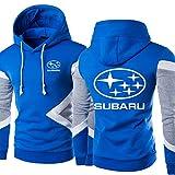 QWEIAS Sudaderas con Capucha para Subaru Sudaderas para Subaru Imprimir Manga Larga Hooed Sportswear Abrigos Primavera Otoño Outfwear Tops - Adolescente Regalo I-4X-Large